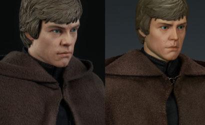 Finale Produktbilder zur Sideshow Luke Skywalker Deluxe 1/6 Scale-Figur