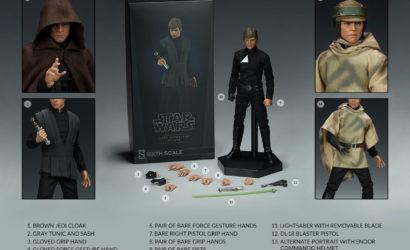 Sideshow Luke Skywalker Deluxe 1/6th Scale-Figur: Neuauflage zur Vorbestellung verfügbar
