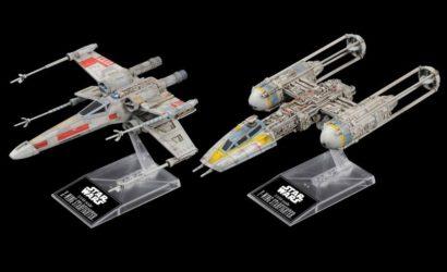 Neues Bandai X-Wing & Y-Wing Doppelpack vorgestellt