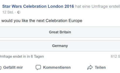 Die nächste Star Wars Celebration Europe in Deutschland?