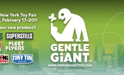 """Gentle Giant expandiert! Neue Tochter """"Gentle Giant Toys"""" vorgestellt"""