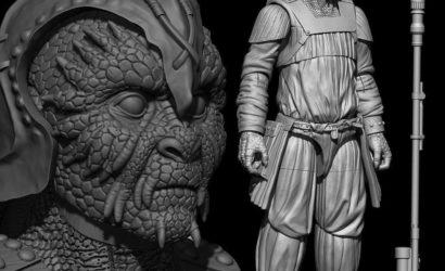 Klaatu (Skiff Guard) für die Hasbro Vintage Collection präsentiert