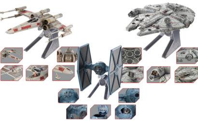 Nachtrag zu den Hot Wheels Star Wars Elite Die-Cast Raumschiffen