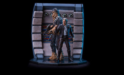 Detailbilder zum Iron Studios Han Solo & Chewbacca Set