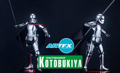 Kotobukiya Captain Phasma Neuankündigung nun doch in 1/7 Scale!