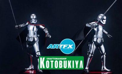 Kotobukiya Captain Phasma Neuankündigung nun doch in 1/7 Scale!