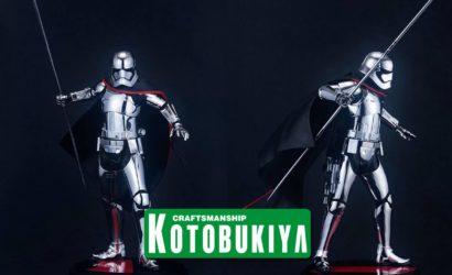 """Neue Kotobukiya Captain Phasma zu """"The Last Jedi"""""""
