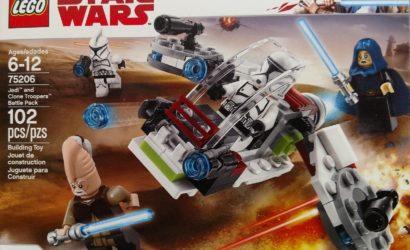 Das LEGO Star Wars 75206 Jedi and Clone Trooper Battle Pack im Detail