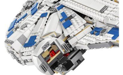 Weitere Detailbilder zum LEGO 75212 Kessel Run Millennium Falcon