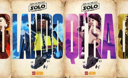 Solo: A Star Wars Story – LEGO-Versionen der Filmplakate