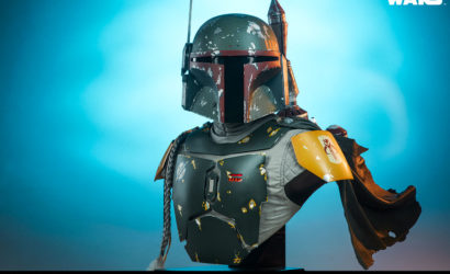 """Unboxing und """"Production Gallery"""" zur Sideshow Boba Fett Life-Size Bust"""