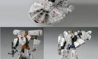 Star Wars x Transformers Millennium Falcon vorgestellt