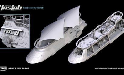 HasLab gestartet! The Vintage Collection Jabba's Sail Barge (The Khetanna) auf dem Weg!
