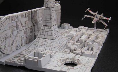Neues Death Star Model-Kit im Maßstab 1/144 von Bandai