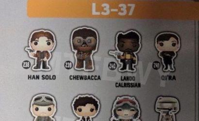 Viele neue Funko POP! Wackelköpfe zu Solo: A Star Wars Story aufgetaucht!
