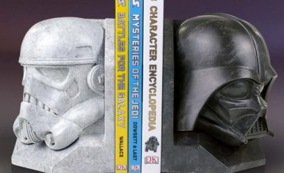 """Neue Gentle Giant """"Stonework Faux Marble"""" Buchstützen präsentiert"""