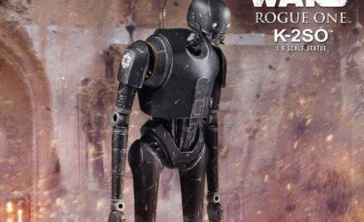 Neue Gentle Giant K-2SO Sixth Scale Statue vorgestellt