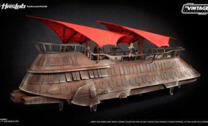 Hasbro zeigt erste Bilder zur lackierten Sail Barge!