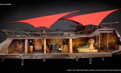 Die Hasbro Vintage Collection Jabba's Sail Barge ist nun weltweit verfügbar!