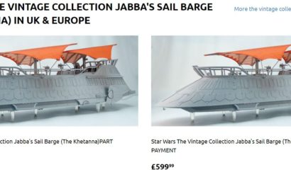 Die Vintage Collection Sail Barge ab sofort auch in Europa bestellbar!