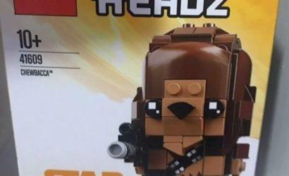 LEGO Solo Brickheadz 41608 und 41609 – die ersten Bilder!