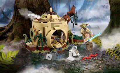 Alle Informationen zur LEGO Star Wars 75208 Yodas Hütte