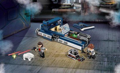 Alle Informationen zum LEGO Star Wars 75209 Han Solo's Landspeeder
