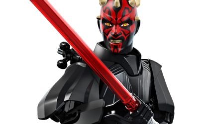 Alle Informationen zur LEGO Star Wars 75537 Darth Maul Buildable Figure