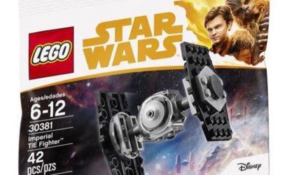 Neues LEGO Star Wars Imperial TIE Fighter Polybag (30381) aufgetaucht