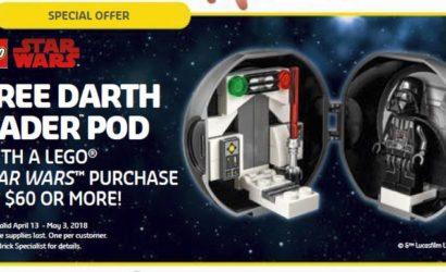 LEGO Star Wars Darth Vader Pod (5005376) wird nun doch veröffentlicht!