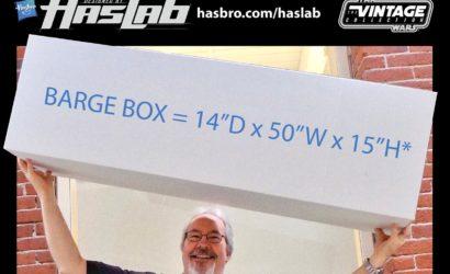 Hasbro zeigt riesige Box zu Jabba's Sail Barge!