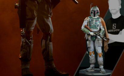 Neue Sideshow Boba Fett Legendary Scale Statue vorgestellt!