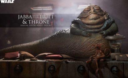 Neue Sideshow Jabba the Hutt 1/6 Scale Figur mit Thron vorgestellt.
