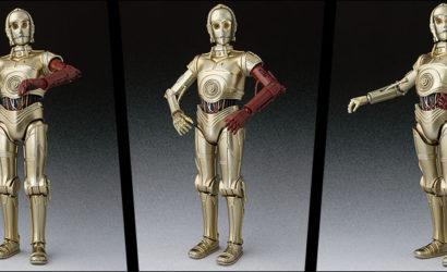 Exklusive 6″ S.H.Figuarts C-3PO Figur mit rotem Arm angekündigt.