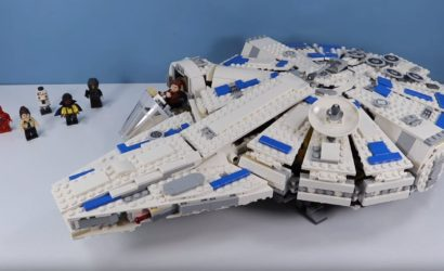 Erstes Unboxing- und Review-Video zum LEGO 75212 Kessel Run Millennium Falcon