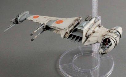 Bandai B-Wing Fighter im Maßstab 1/72 vorgestellt
