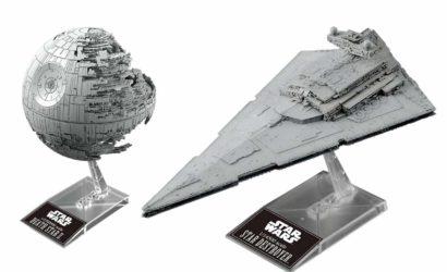 Neues Bandai Vehicle Model-Set: Death Star II & Star Destroyer