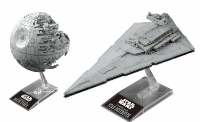 Neues Bandai Vehicle Model-Set: Death Star II & Star Destroyer