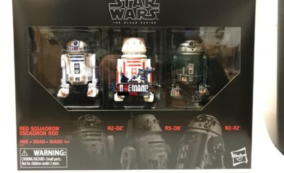 Black Series 6″ Red Squadron Astromech 3-Pack – erste Bilder der Box