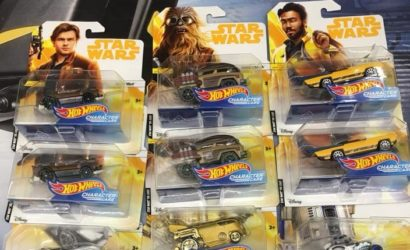 "Drei neue Hot Wheels Character Cars zu ""Solo: A Star Wars Story"""