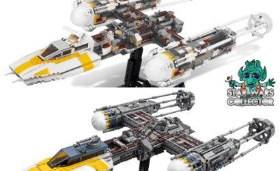 Der neue LEGO 75181 UCS Y-Wing im direkten Vergleich