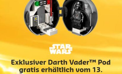 LEGO Darth Vader Pod & neue Sets ab sofort verfügbar!