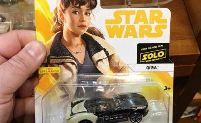"Drei bisher unbekannte Hot Wheels Character Cars zu ""Solo: A Star Wars Story"""
