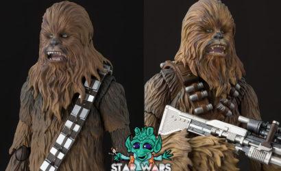Die S.H.Figuarts Chewbacca 6″-Figuren im direkten Vergleich