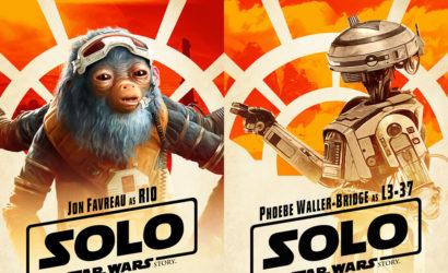Ganz neue Charakter-Poster zu Solo: A Star Wars Story