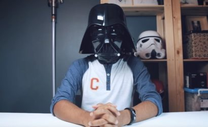Unboxing-Video und Live-Bilder zum neuen Black Series Darth Vader Helm