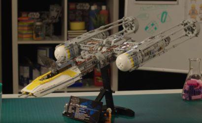 Designer-Video zum neuen LEGO 75181 Y-Wing UCS