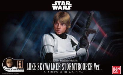 Neue Bilder zu den Bandai Luke- & Han-Stormtrooper Model-Kits