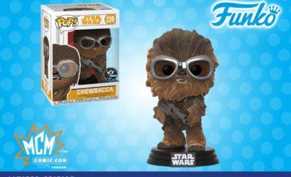 """Funko POP! """"Flocked"""" Chewbacca zusätzlich als MCM Comic Con Exclusive"""