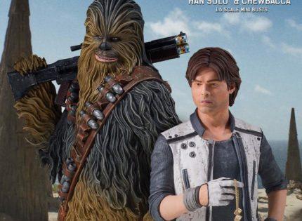 "Zwei neue Gentle Giant Mini-Büsten zu ""Solo: A Star Wars Story"""